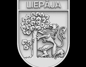 Liepaja coat of arms for CNC 3D printable model