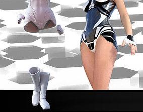 3D model Sci fi dress GENESIS 2