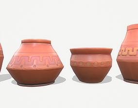 3D asset Vase Pack