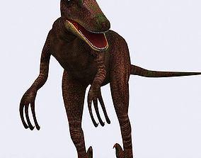 3DRT - Dinosaurs - Velociraptor animated