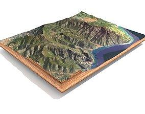 Italy mountain landscape 3D model