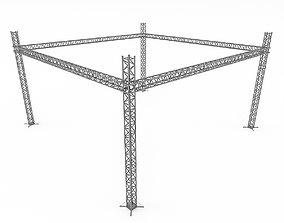 VR / AR ready Modular scaffolding Model