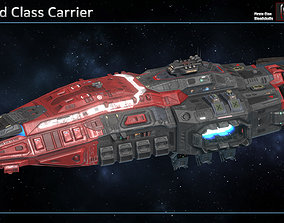 Spaceship Warlord Carrier 3D model