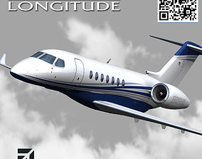 Cessna Citation Longitude 700 3D model