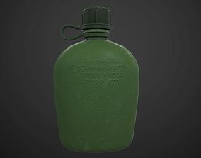 3D model Military Canteen PBR textured