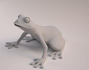 Frog model highpoly