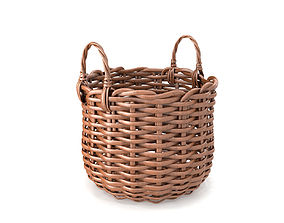 relax 3D Wicker Basket