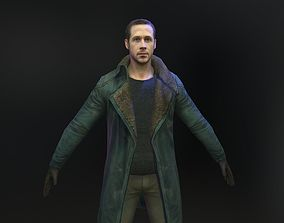 Ryan Gosling 3d model from Blade Runner 2049 realtime