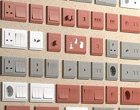 3D asset Retrotouch Simplicity Socketes