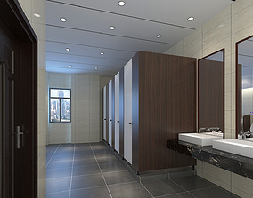 Male Toilet 3D