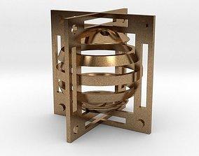 Dice 3D printable model luck