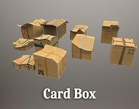 3D asset Card Box