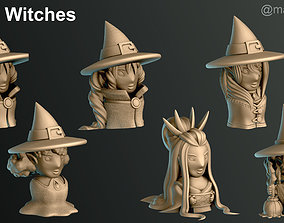 3D print model Witches