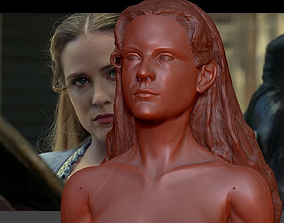 Westworld Dolores Abernathy Evan Rachel Wood 3d