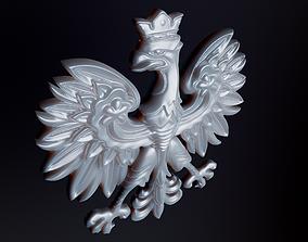 Polish Eagle 3D printable model