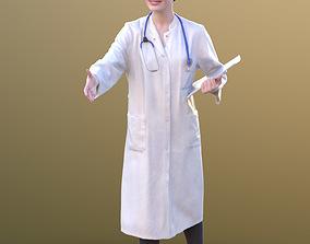 3D model Francine 10368 - Standing Doctor