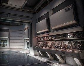 Sci Fi Interior Asset Pack 1 3D model
