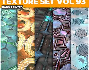 3D asset Scifi Vol 93 - Game PBR Textures