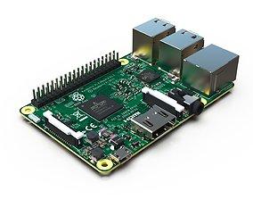 Raspberry Pi 3 model B - Reverse engineering 3D