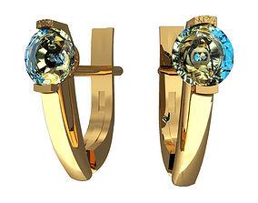 jewelry 3d 3D Earrings