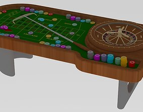 Casino Table 3D
