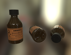 3D model game-ready Poison