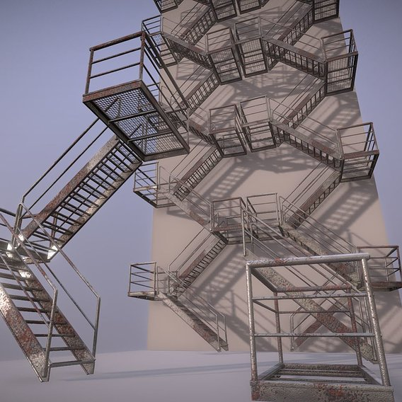 Modular Industrial Staircases