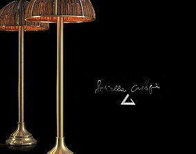 3D asset Floor Lamp Bamboo Fungo by Gabriella Crespi
