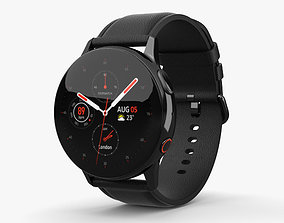 Samsung Galaxy Watch Active 2 40mm Stainless 3D model 1
