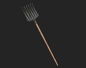 Rake Farmer 3D model