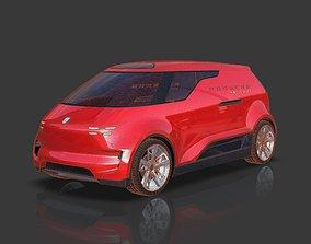 Porsche Vision Renndienst Concept Van 3D model