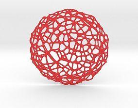 3D print model Drink coaster - Voronoi No V