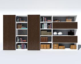 3D model shelf cupboard