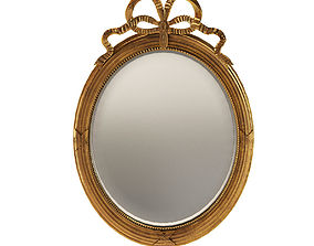 3D Neoclassical wall mirror - France about 1900 france