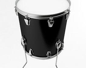 3D model percussion Floor Tom Drum