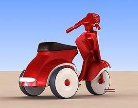 3D model kid Bicycle