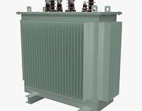 Electrical Transformer 1 3D model