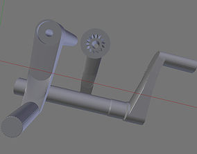 3D printable model Window Crank 7 75 cm 3