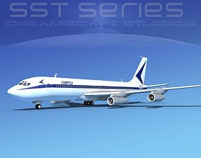 3D Boeing 707-320 SS Cortu