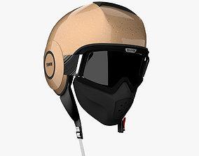 Shark Raw Helmet 3D model