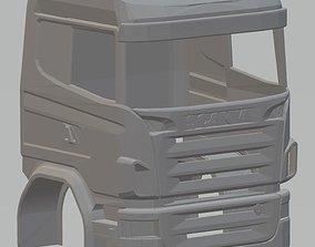 Scania R730 Printable Cabin Truck