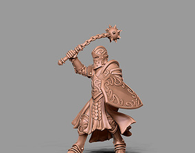 Knight 3D print model - 35mm scale