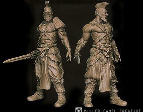 gameboard warrior 3D printable model
