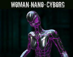 3D model Woman Nano-Cyborg