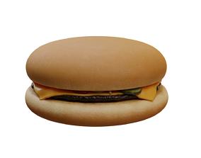 McDonalds Cheeseburger 3D model