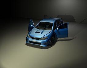 3D Subaru Impreza STI