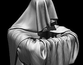 3D High Poly Monk