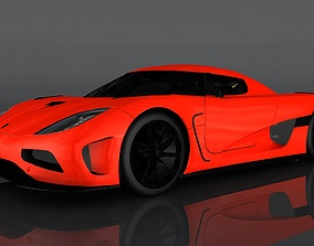 Koenigsegg Agera 3D asset realtime