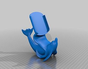 3D print model Iphone 6 plus dolphin stand