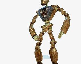 Steam Punk Robot alien 3D model